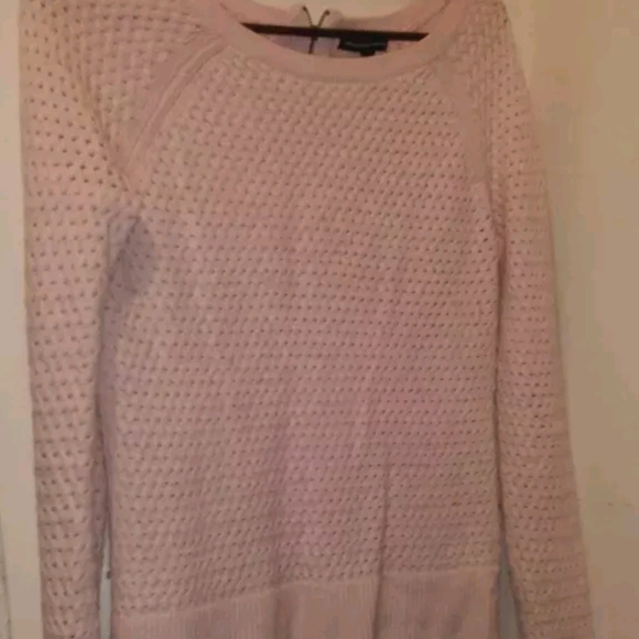 Baby pink light sweater